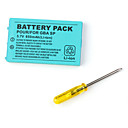 batteripakke for Game Boy Advance SP (850mAh)