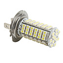 H7 6W 102x3528 SMD 540-580LM White Light Bulb for Car Fog Lamp (DC 12V)