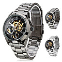 Men's Premium Alloy Style Analog Mechanical Wrist Watch (Assorted Colors)