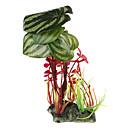 Украшение для аквариума, пластиковые зеленые растения
