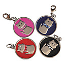 Dog tags Lucky Cat Style Dog ID Name Tag (Assorted Colors)