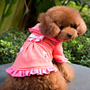 Youthful Bowknot Style Dresses for Dogs (S-XL)