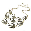 Buy Necklace Vintage Necklaces / Statement Jewelry Party Daily Bird Animal Design Adjustable Alloy Women 1pc Gift Bronze