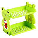 Cartoon Double Bunk Storage Rack(Random Color)