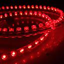 Waterproof 72cm 72-LED Red LED Strip Light for Car (12V)