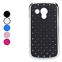 Lattice Design Hard Case med med Imitation Diamond for Samsung S7562 (Assorterede farver)