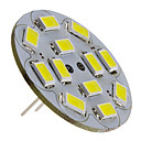 Focos LED G4 6W 12 SMD 5730 570 LM Blanco Natural DC 12 V