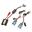 12V 35W 5202 Lampe Xenon HID Conversion Kit Set (AC 12V Slim Ballast)