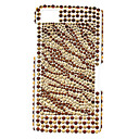 Streifen-Muster Hard Case mit Strass für Blackberry Z10
