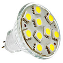 Focos MR11 GU4 2 W 10 SMD 5050 150 LM 6000K K Blanco Natural DC 12 V