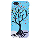 Blue Love Tree Pattern Hard Case with droplet for iPhone 5/5S