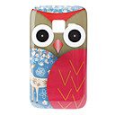 Baykuş ve Samsung Galaxy Ace Duos S6802 için Deer Desen Hard Case