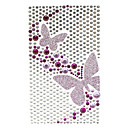 Beautiful Purple Butterfly Jewelry Protective Body Sticker for Cellphone