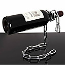Floating Chain Style Wine Rack Bottle Holder