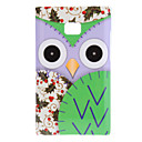 Stirra Cartoon Owl med Purple Face och Cherry Wings Pattern Hard Case för LG E400 Optimus L3