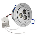 3W 240-270LM 6000-6500K Natural White Light LED Loft pære (85-265V)