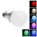 E26/E27 2 W Integrate LED LM Color-Changing / RGB G60 Remote-Controlled Globe Bulbs AC 220-240 V