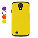 Avtagbar beskyttende vanskelig sak for Samsung Galaxy S4 I9500 (assorterte farger)