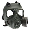 Skull Style Gas Mask Outdoor War Games - Army Green