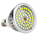 E14 6W 48x2835SMD 580-650lm 5800-6500K Natural White LED Bulb Pontual (110-240V)