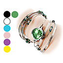 Women's Watch Silver Steel with Beads Bracelet