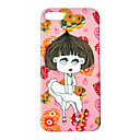Cartoon Sexy Girl Pattern IML Technology PC Hard Case for iPhone 5/5S
