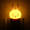 Lovely Rabbit Style Plug Light LED Night Light