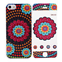 National Style Pattern While Calling Or Called Apple 8 Pin Flash Led Case for iPhone 5/5S