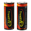 TrustFire Rechargeable 3.7V 5000mAh 26650 Li-ion Batteries (Pair)