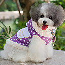 Dog Coats - XS / S / M / L / XL - Spring/Fall - Pink / Purple Cotton