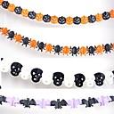 Halloween guirlande pour les bars papier décoration accessoires (3 mètres 4pcs)