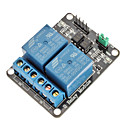 2 Channel Electric Relay Module Relay Expansion Board with Optocoupler