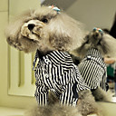 Cutie Cool Style Zebra T-shirt with Collar for Pets Dogs (Assorted Sizes)
