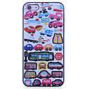 Car Pattern Polycarbonate Back Case for iPhone 5/5S
