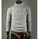 Men'S Casual High Collar Warm Sweater