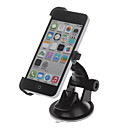360 Degree Rotation Holder Mount Bracket w/ H01 Suction Cup for iPhone 5c – Black