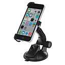 360 Degree Rotation Holder Mount Bracket w/ H80 Suction Cup for iPhone 5c – Black