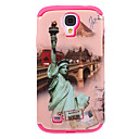 The Statue of Liberty Pattern Detachable Silicone + Plastic Back Case Cover for Samsung Galaxy S4 I9500