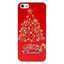 Caso duro Series Natale brillante Albero di Natale e regali Pattern for iPhone 5/5S