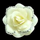 Fabric Flowers with Rhinestone Wedding Headpieces
