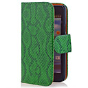 Cobra Grain PU Leather Case Full Body para Samsung i9100 Galaxy