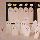Cute 200 Pages Ten Fingers Sticker Bookmark Memo Sticky Notes Pads