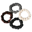 Fashion Multicolor Fabric Hair Ties For Women (Black,Khaki And More)