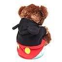 søde Micky jumpsuits med hættetrøje til dyr Hunde