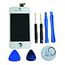 LCD Display Glass Touch Screen Digitizer with Framee and Assembly Tools for iPhone 4S