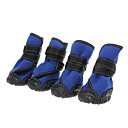 Dog Socks & Boots - XS / S / M / L - Spring/Fall - Black / Blue - Waterproof - Cotton