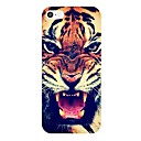 Roaring Tiger Pattern PC Hard Case Frame for iPhone 4/4S