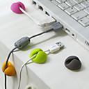 clip de fijación del alambre de escritorio (color al azar)