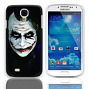 JOKER Design Hard Case with 3-Pack Screen Protectors for Samsung Galaxy S4 I9500