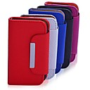 Lureme High Quality Solid Color PU Leather Full Body Case For Samsung Galaxy SIII I9300 mini(Assorted Color)